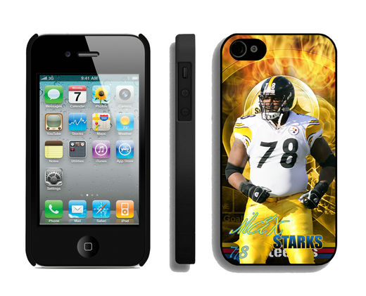 NFL Pittsburgh Steelers 78 Max Starks IPhone 4 4S Cases - NFL Iphone 5 ...